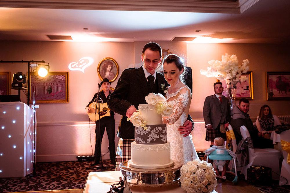 glenskirlie wedding cake scotland glasgow