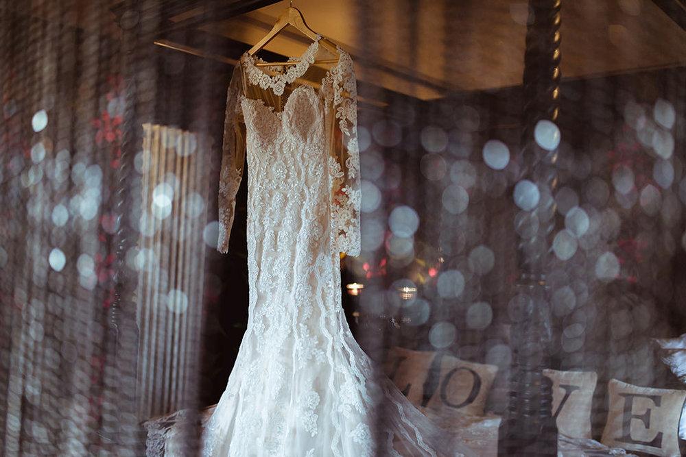 vintage wedding dress bridal suite glenskirlie photo