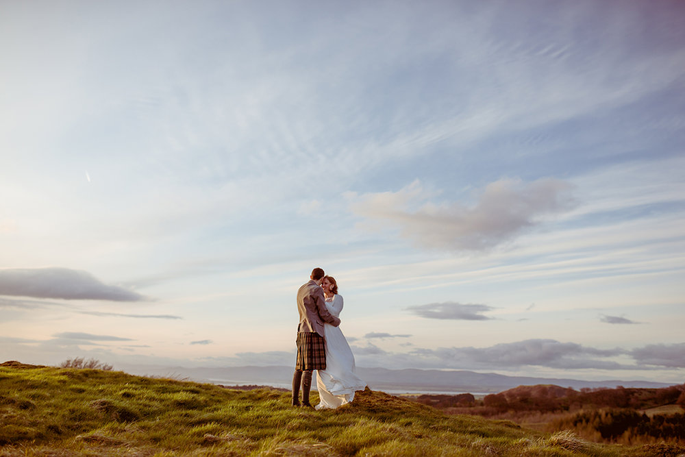 scottish scenery wedding photography epic landscape forth valley