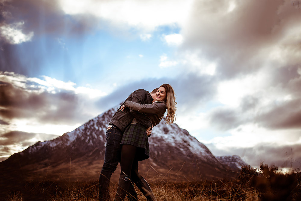 Scottish Highland Glencoe wedding photography
