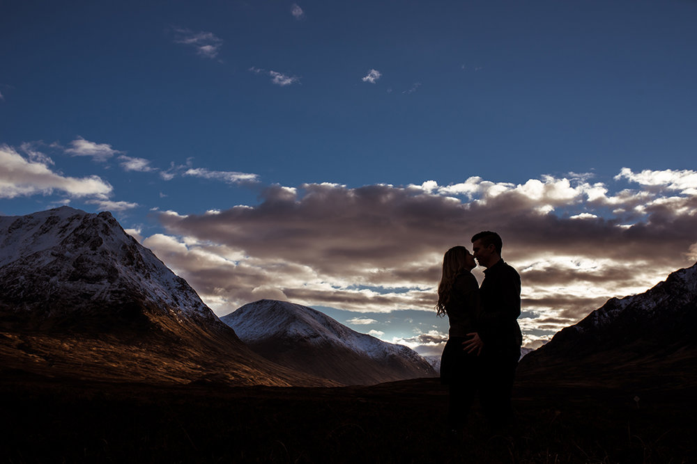 glencoe creative wedding photographer