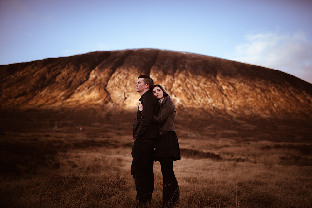 glencoe amazing wedding scenery mountains photographer