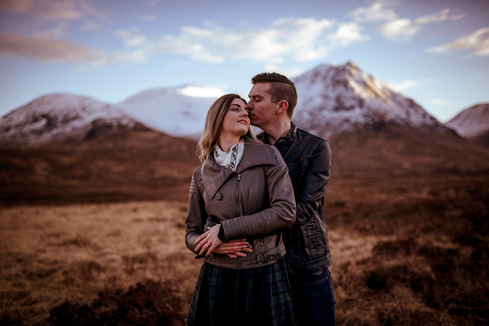 romantic wedding photography scotland
