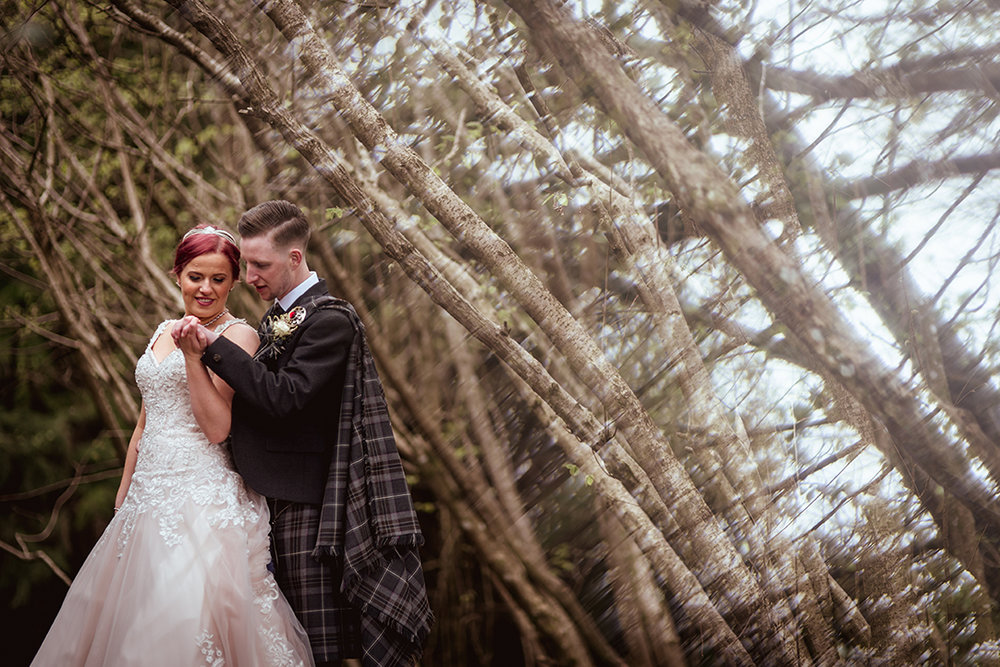 creative wedding photography chatelherault glasgow scotland