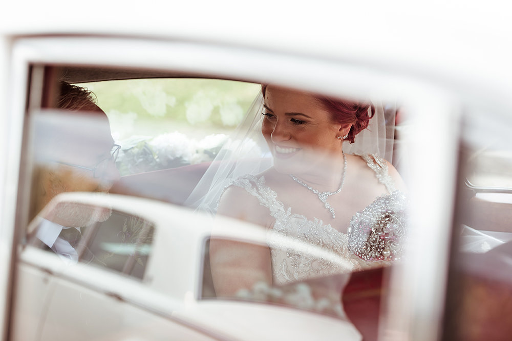 classic white wedding cars hamilton