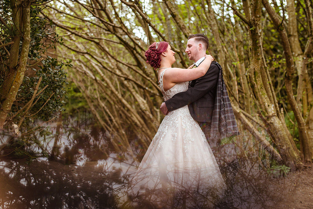 artistic wedding photography hamilton scotland
