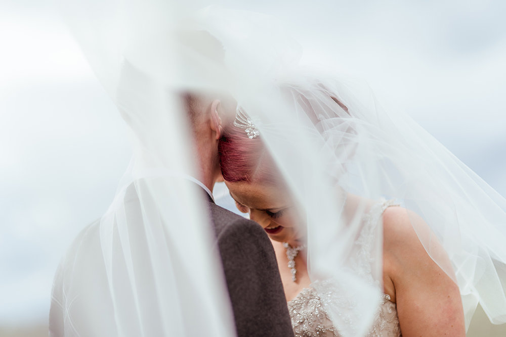 alternative natural glasgow wedding photographer