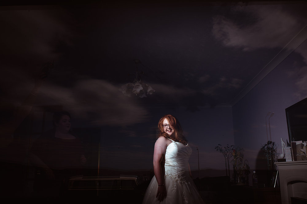 creative artistic wedding photography quirky scotland