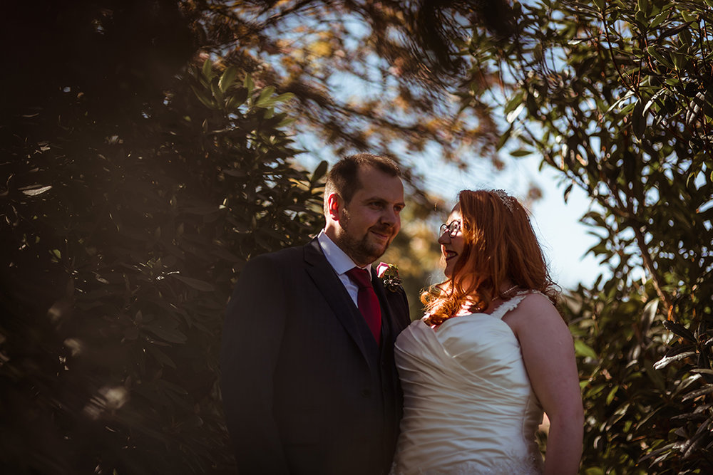 glasgow alternative wedding photographer gourock