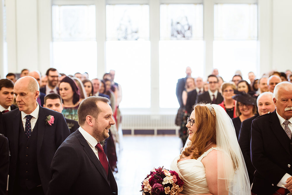 greenock town hall wedding