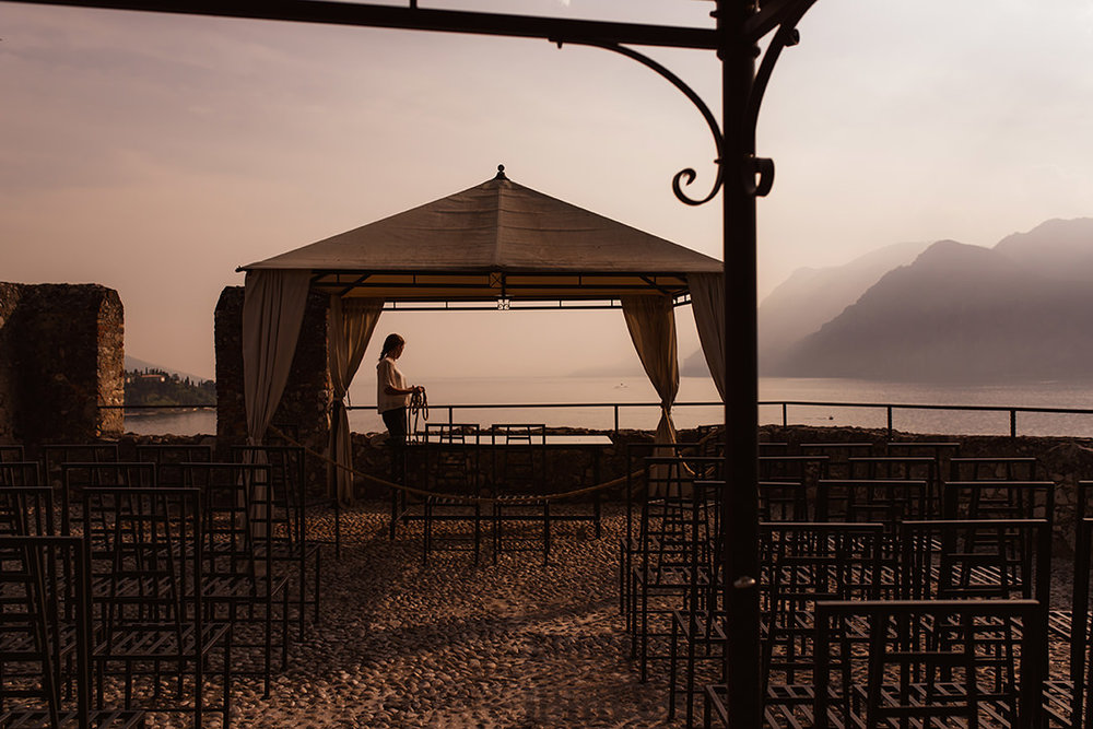 wedding venues castle italian lakes