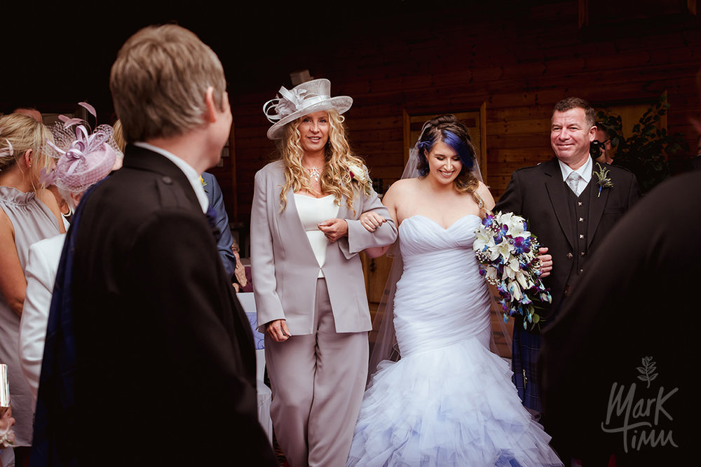 cruin wedding blue hair