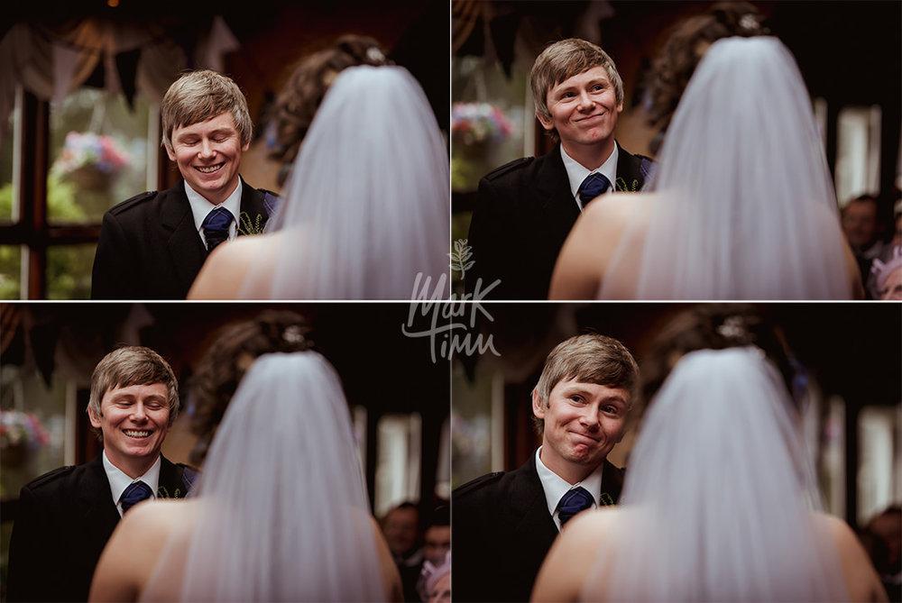 funny wedding photographs scotland cruin