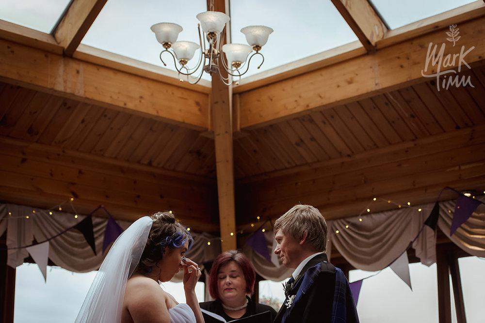 emotional photo wedding loch lomond