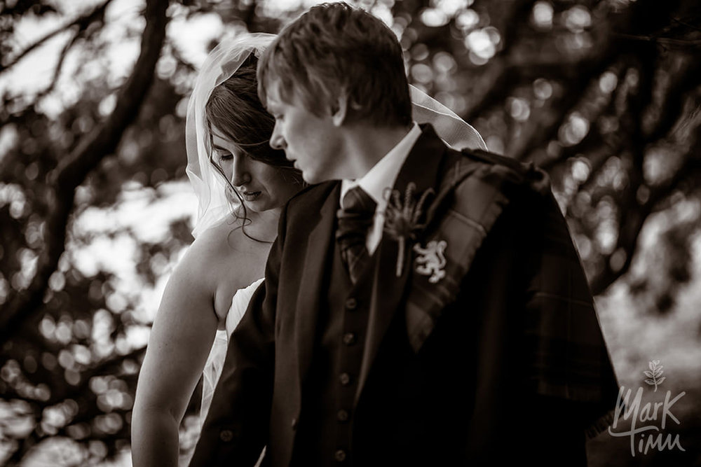 romantic alternative wedding photography scotland