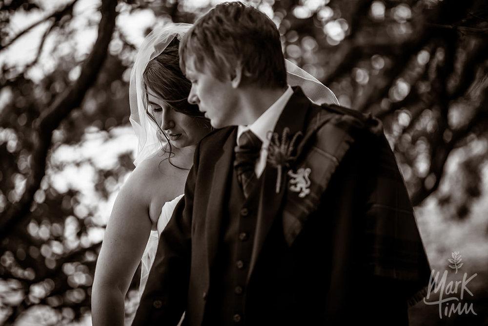 romantic alternative wedding photography scotland
