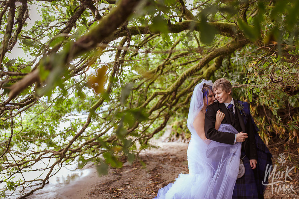 loch lomond romantic wedding photography