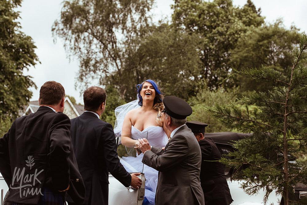 wedding cars loch lomond cruin