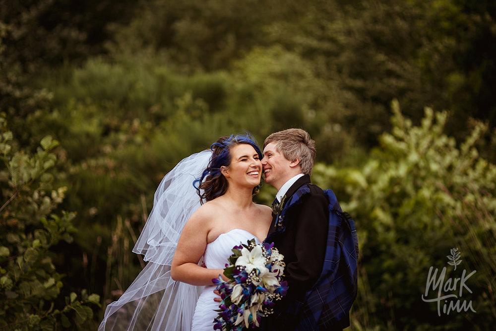 windy wedding scotland
