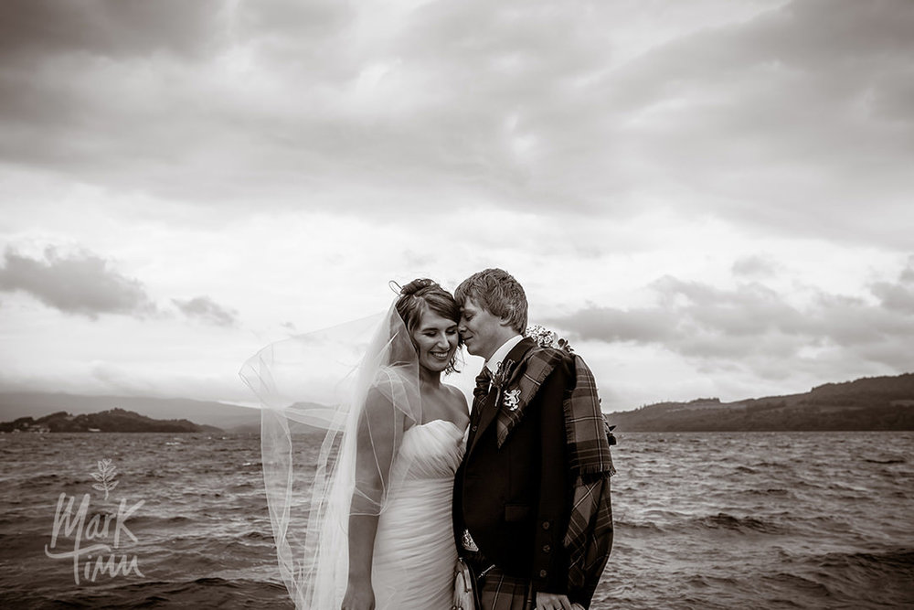 glasgow wedding photographer loch lomond