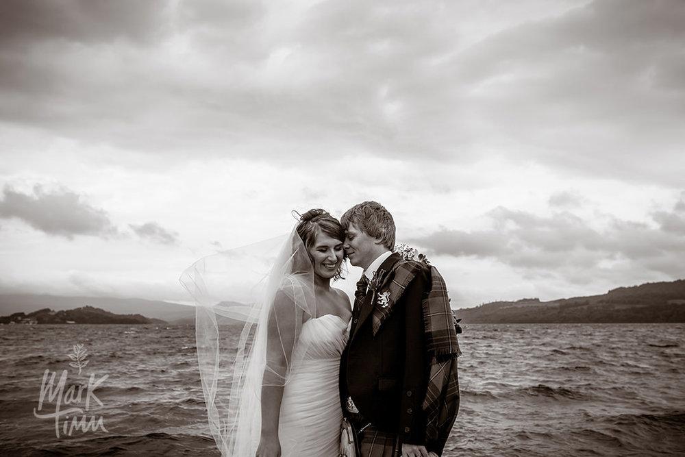 glasgow wedding photographer loch lomond