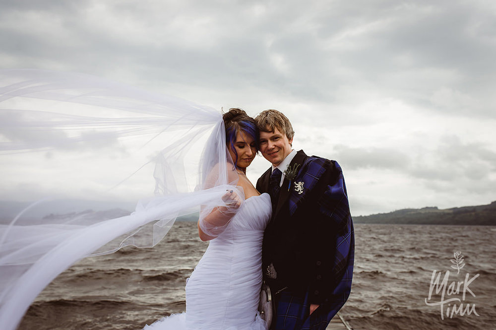 the cruin wedding loch lomond