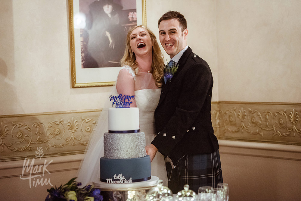 wedding cake glasgow