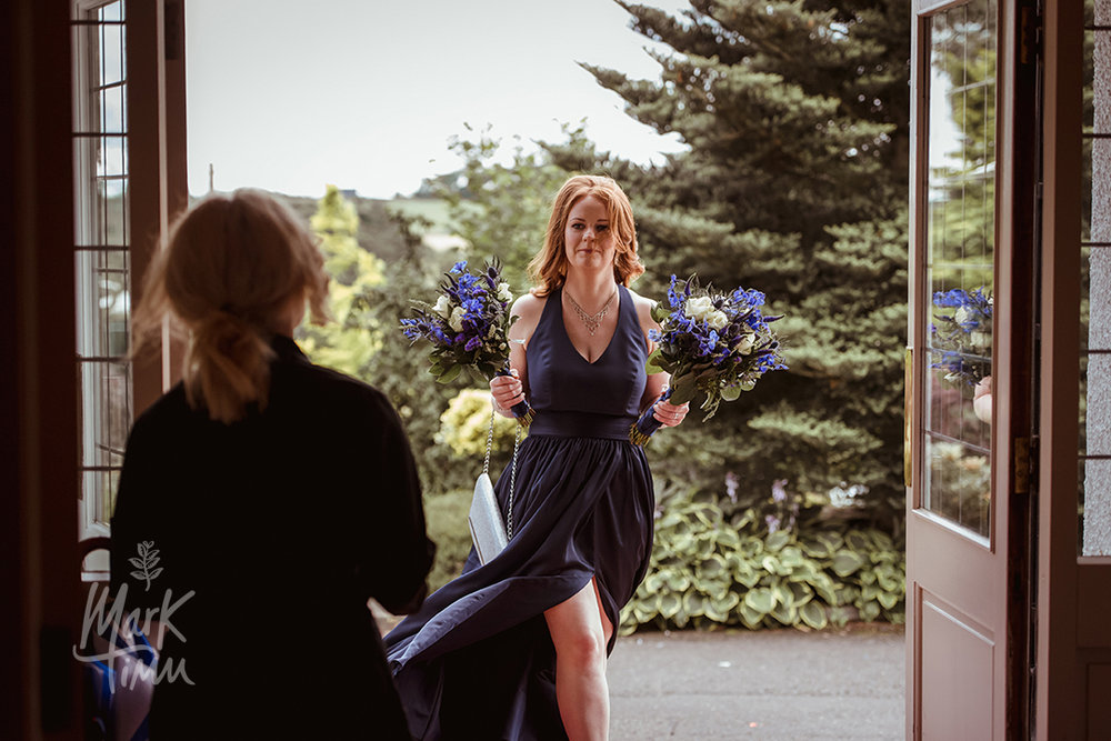 purple bridesmaids dress glasgow