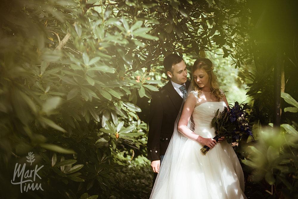 romantic wedding photographs scotland
