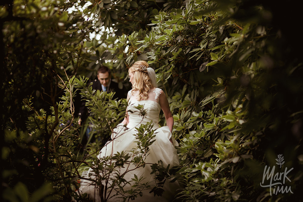 woodland wedding photographs scotland