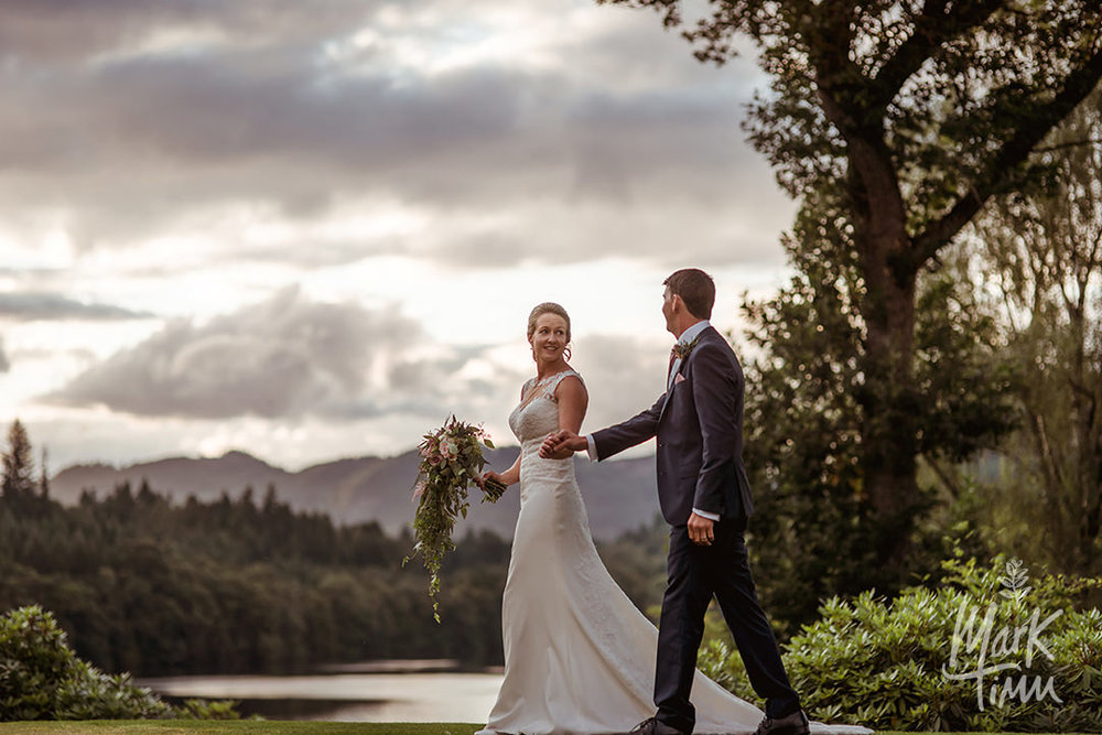scottish loch wedding photographer