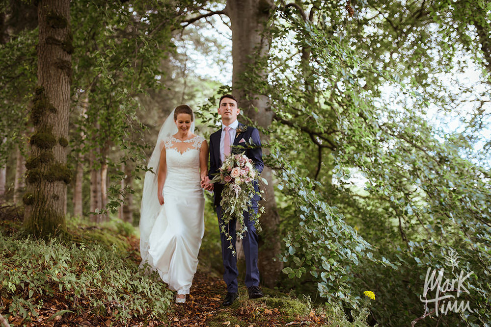 forest wedding scotland