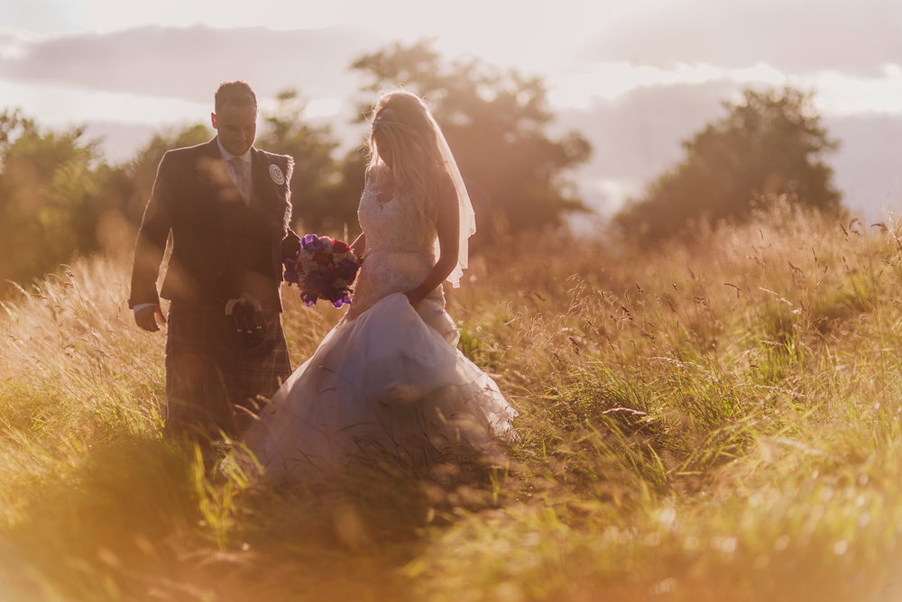 creative glasgow wedding photographer