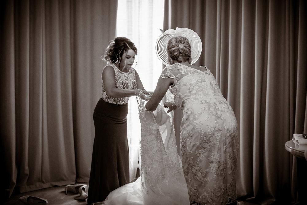 wedding dress photos glasgow