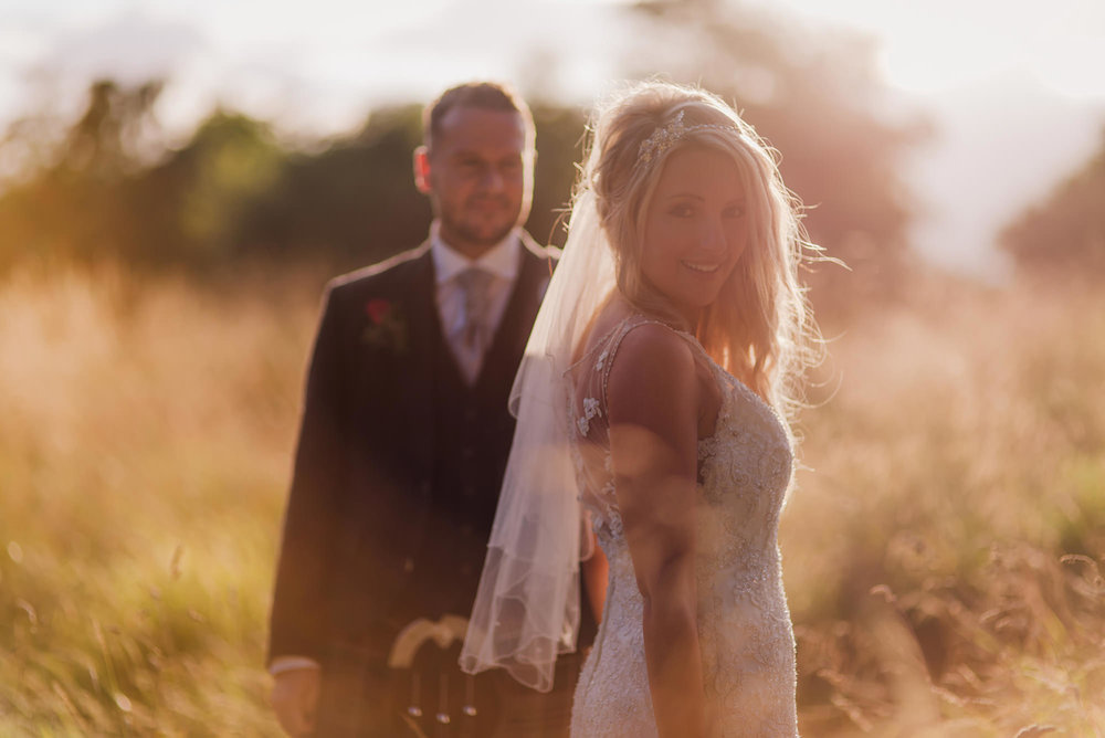 creative scottish wedding photography