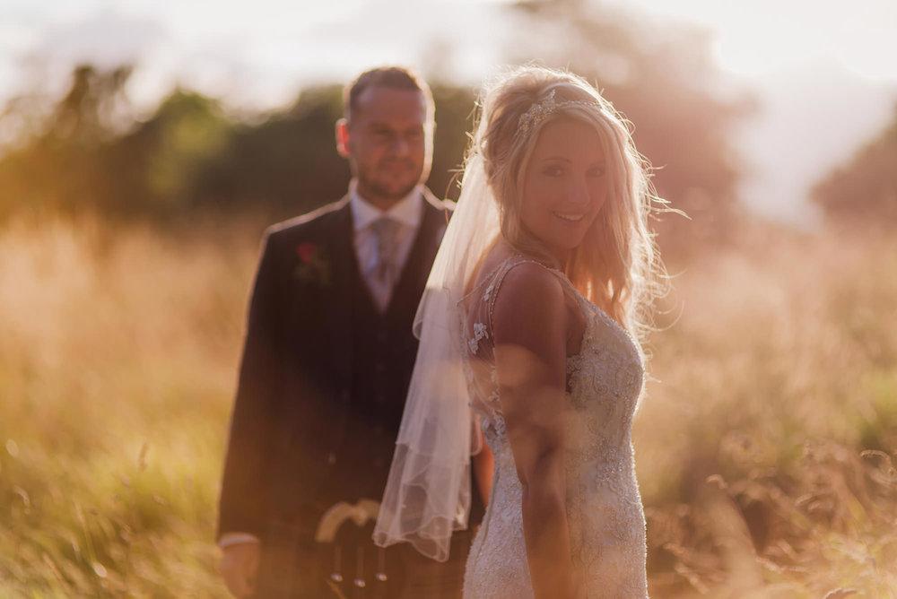 creative scottish wedding photography