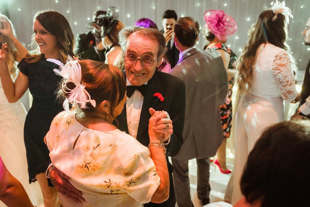 suave wedding guest