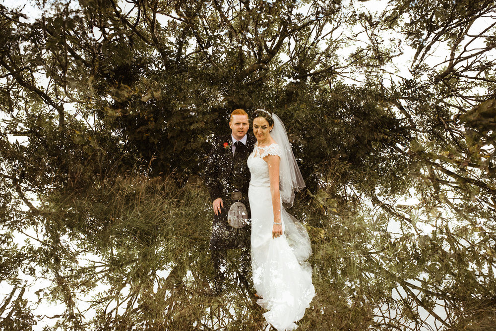 artistic wedding photographer scotland