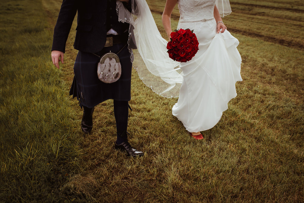 farm wedding scotland