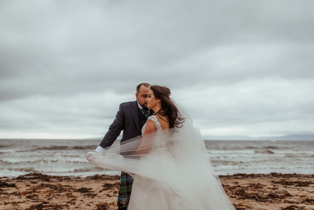 seamill hydro wedding photographer