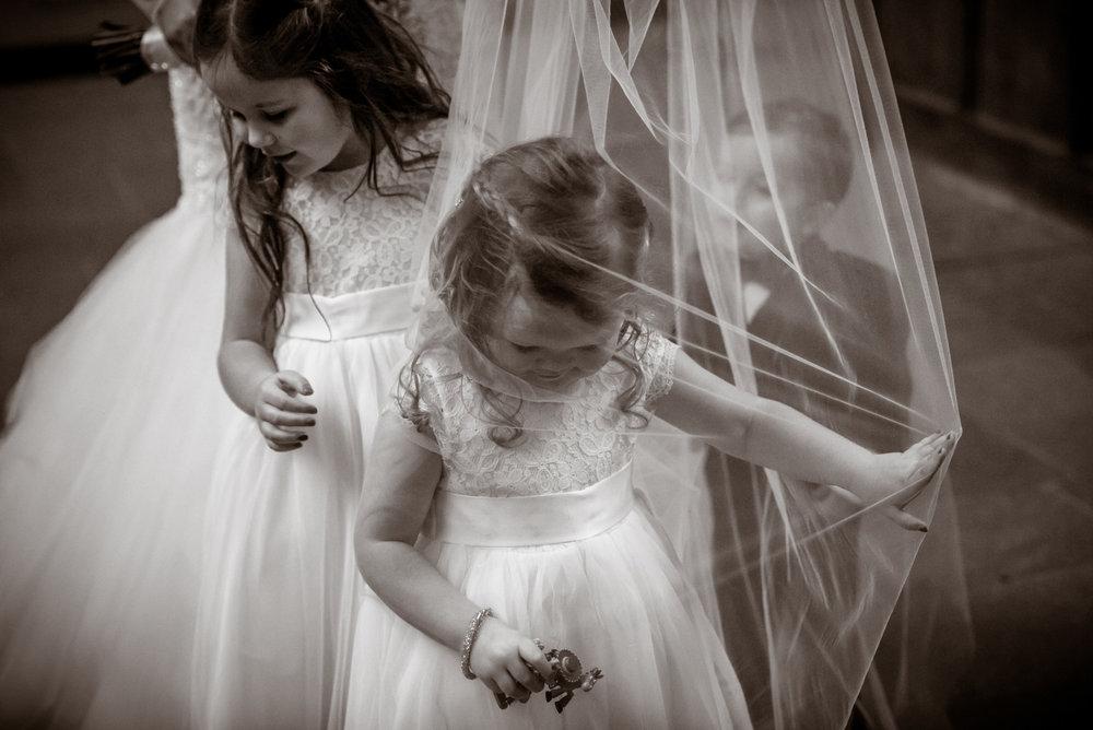 Creative Glasgow wedding photographer