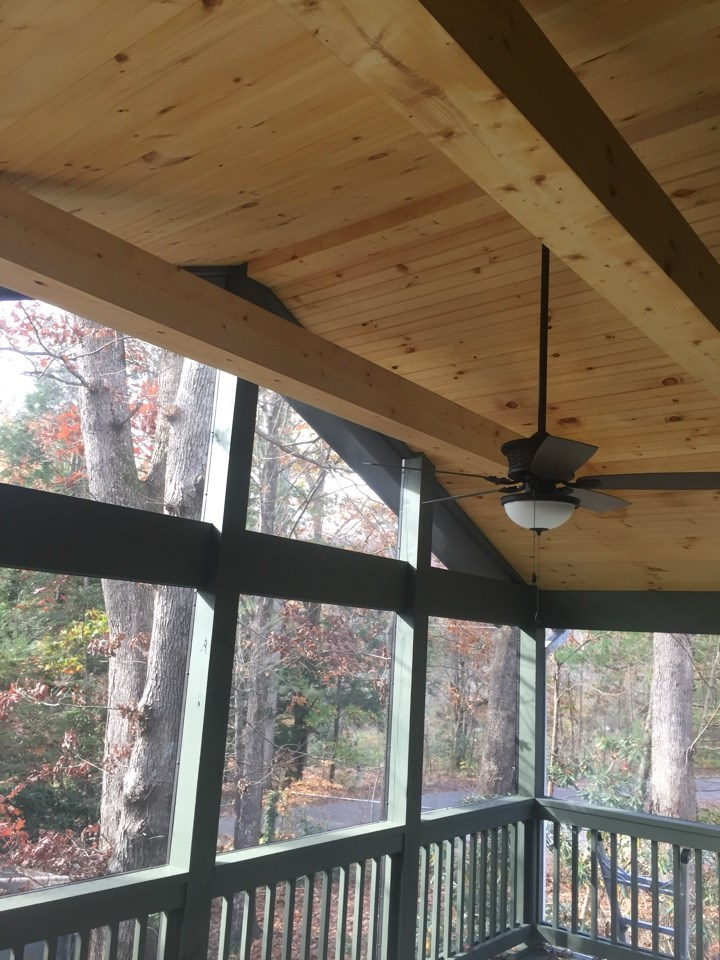 - Black Mountain Screened in Porch Addition