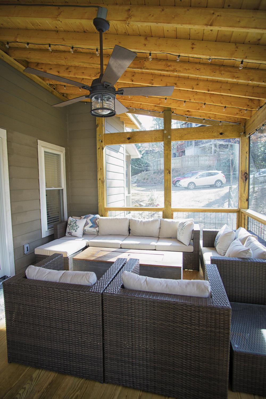 West Asheville Deck Addition & Bath Remodel