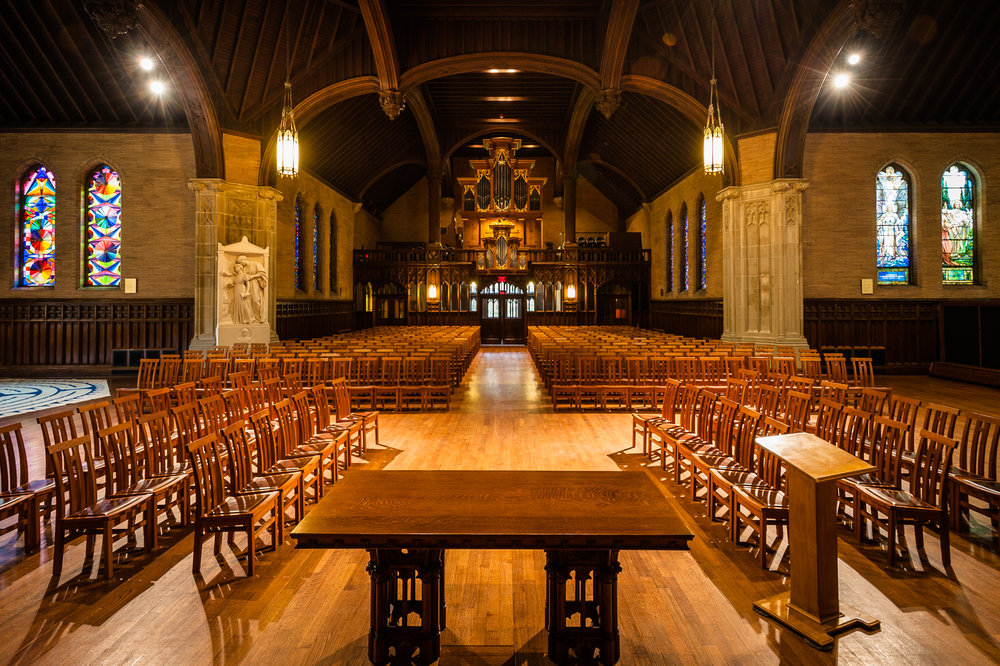 - Houghton Chapel and the Multifaith Center at Wellesley College were built to provide sacred space for the transformative work of religious and spiritual life in higher education.