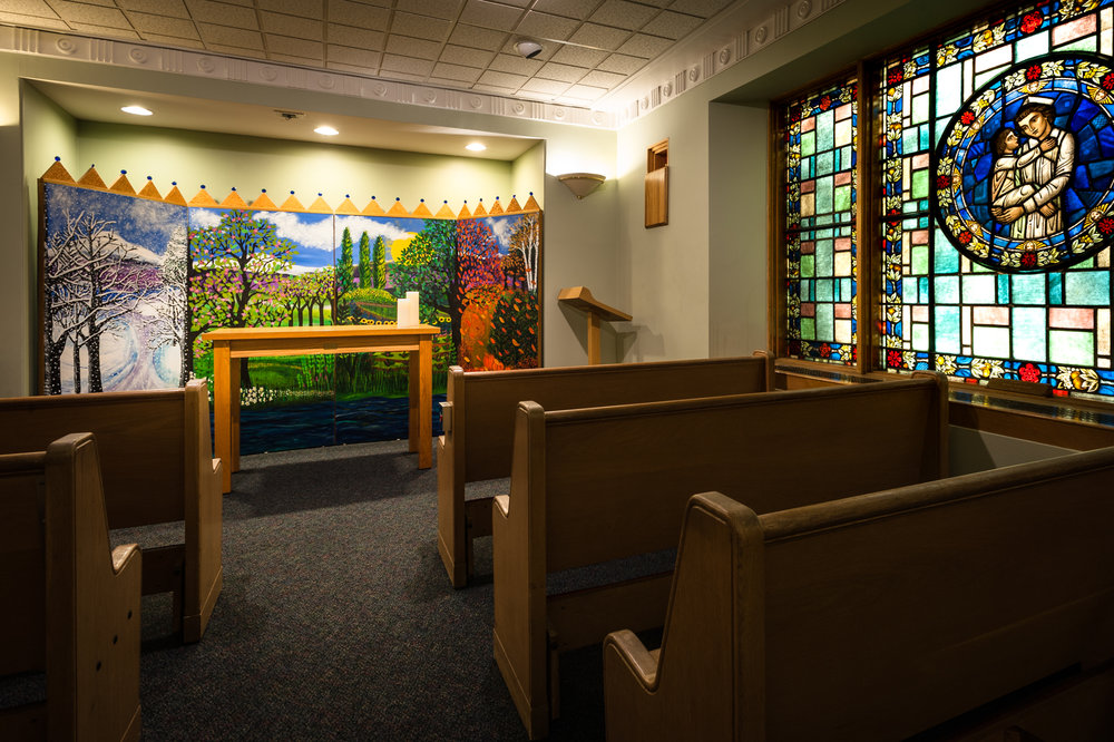 - The chapel at Children's Hospital in Boston has been offering quiet respite since it was initiated by nurses during the hospital expansion in the 1950s.