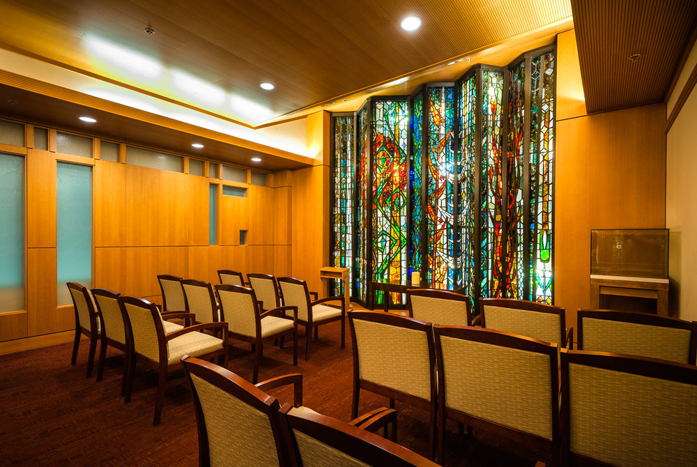 - The Dana Farber Cancer Institute built its first Prayer and Meditation Room on an inpatient floor in 1990 and its full chapel in 1995.Planners decided not to name this chapel in an effort to make it as inclusive as possible.
