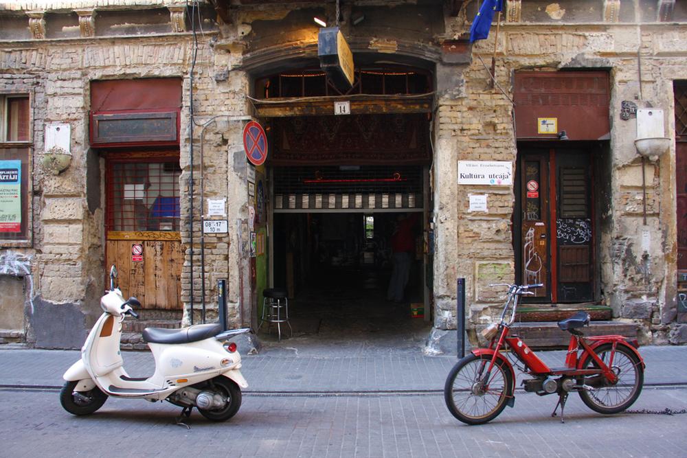 ruin bar entrance