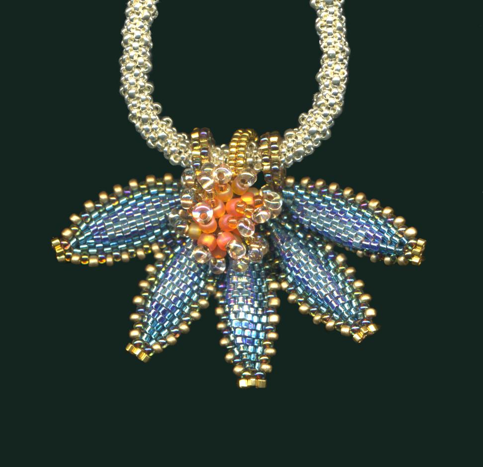 Starflower pendant