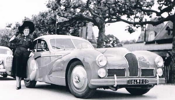 1948 Talbo Lago 110114 debuted at the Concour's d'Elegance in Paris
