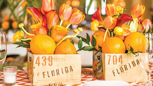 florida boxes oranges